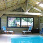 plage piscine Haute Goulaine bois